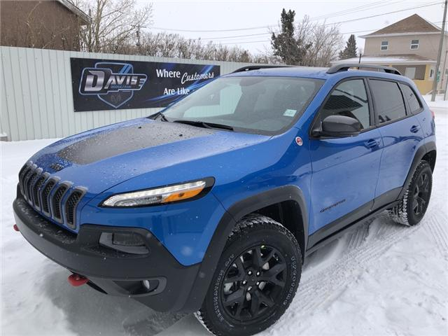 2018 Jeep Cherokee Trailhawk (Stk: 12243) in Fort Macleod - Image 1 of 24