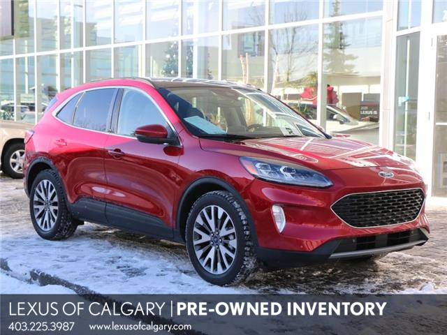 2020 Ford Escape Titanium Hybrid (Stk: 200665A) in Calgary - Image 1 of 29