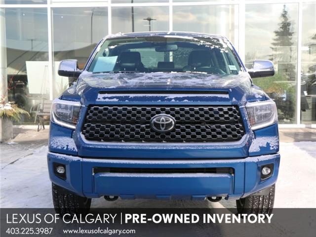2018 Toyota Tundra Platinum 5.7L V8 (Stk: 200631A) in Calgary - Image 1 of 26