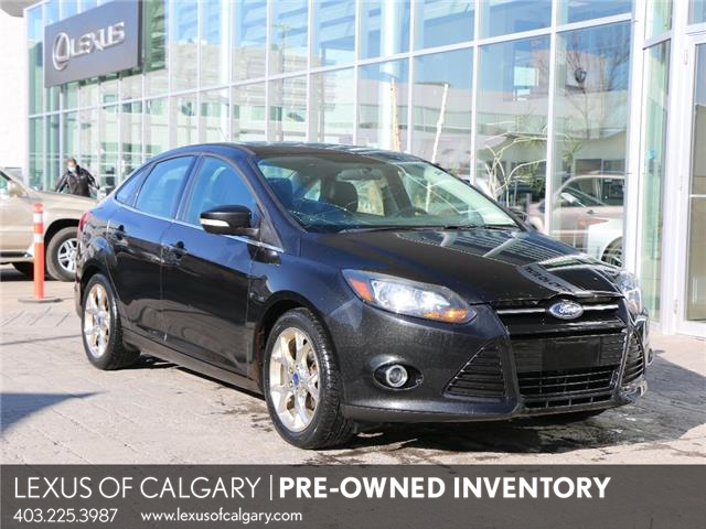 2013 Ford Focus Titanium (Stk: 4112B) in Calgary - Image 1 of 8