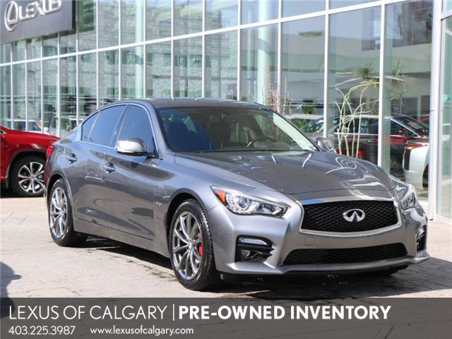 2017 Infiniti Q50 3.0t Red Sport 400 (Stk: 210294A) in Calgary - Image 1 of 8