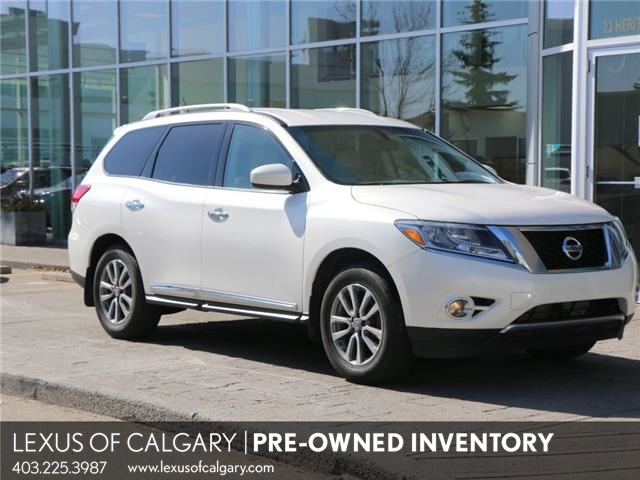 2014 Nissan Pathfinder Platinum (Stk: 210141B) in Calgary - Image 1 of 24