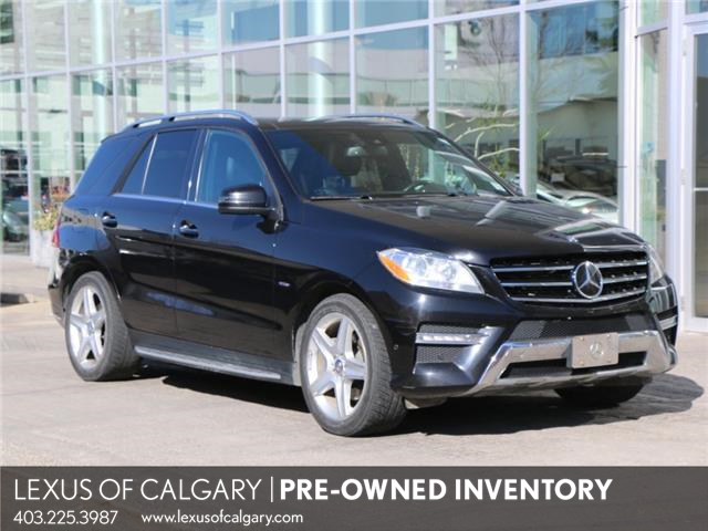 2012 Mercedes-Benz M-Class Base (Stk: 210225B) in Calgary - Image 1 of 23