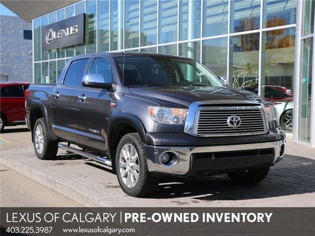 2013 Toyota Tundra Platinum 5.7L V8 (Stk: 210074B) in Calgary - Image 1 of 21