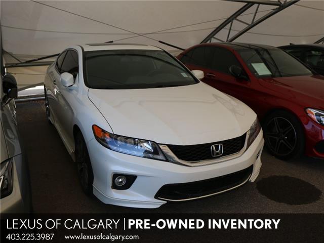 2014 Honda Accord EX-L-NAVI V6 (Stk: 210623C) in Calgary - Image 1 of 12