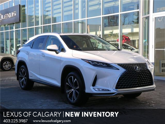 2021 Lexus RX 450h Base (Stk: 210095) in Calgary - Image 1 of 27