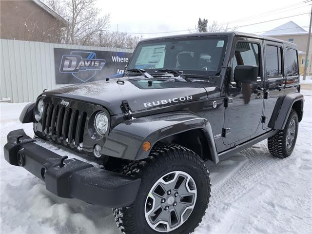 2018 Jeep Wrangler JK Unlimited Rubicon (Stk: 12158) in Fort Macleod - Image 1 of 20