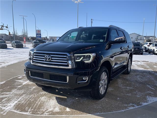 2021 Toyota Sequoia Platinum (Stk: DY3442) in Medicine Hat - Image 1 of 27