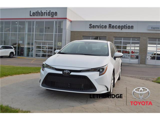 2021 Toyota Corolla LE (Stk: 1CO2600) in Lethbridge - Image 1 of 27