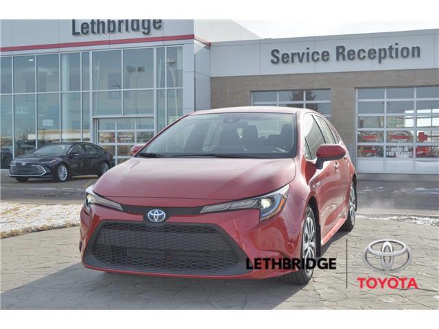 2021 Toyota Corolla Hybrid Base w/Li Battery (Stk: 1CO6576) in Lethbridge - Image 1 of 26