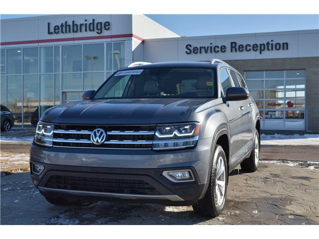 2018 Volkswagen Atlas 3.6 FSI Highline (Stk: UT9753B) in Lethbridge - Image 1 of 31