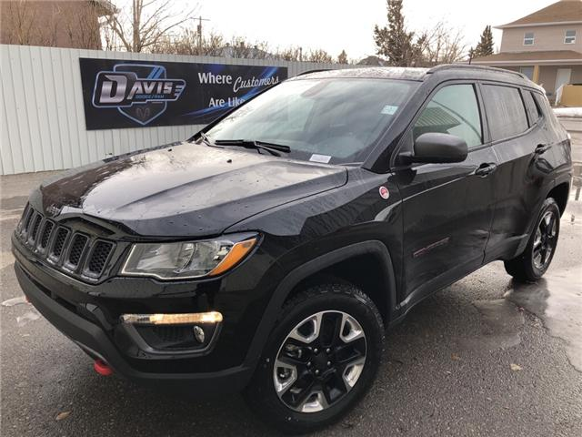 2018 Jeep Compass Trailhawk (Stk: 12001) in Fort Macleod - Image 1 of 24