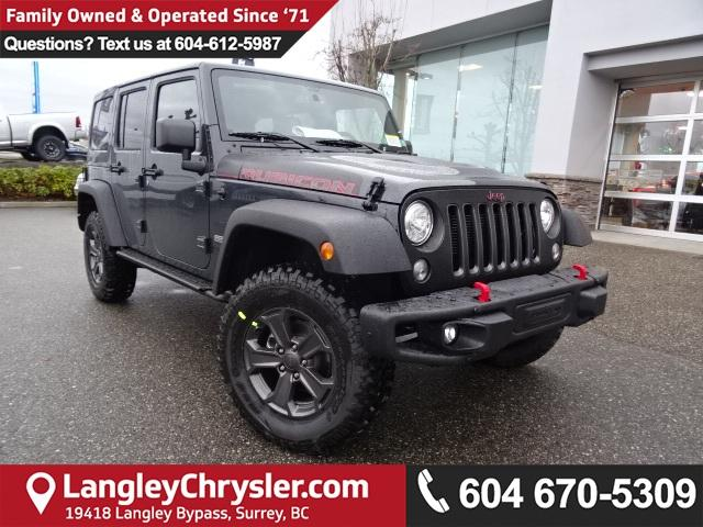 Jeeps For Sale Bc >> New 2018 Jeep Wrangler Jk Unlimited For Sale In Langley Bc