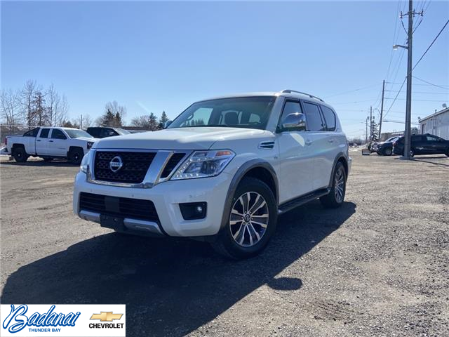 2017 Nissan Armada  (Stk: M250A) in Thunder Bay - Image 1 of 24
