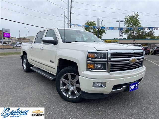 2015 Chevrolet Silverado 1500 High Country (Stk: M393A) in Thunder Bay - Image 1 of 21