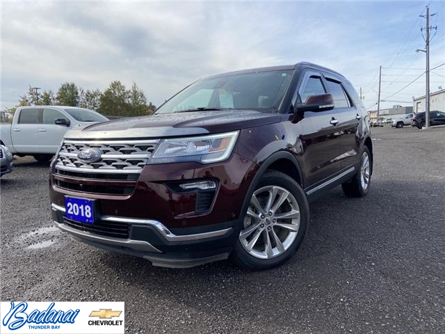 2018 Ford Explorer Limited (Stk: M356A) in Thunder Bay - Image 1 of 19