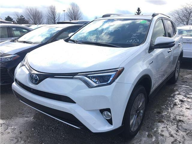 2018 Toyota RAV4 Hybrid Limited (Stk: 183106) in Brampton - Image 1 of 5