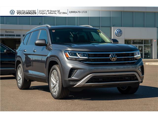 2021 Volkswagen Atlas 3.6 FSI Highline (Stk: 10036) in Calgary - Image 1 of 45