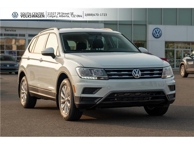 2020 Volkswagen Tiguan Trendline (Stk: 00010) in Calgary - Image 1 of 38