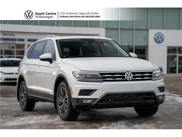 2021 Volkswagen Tiguan Highline (Stk: 10104) in Calgary - Image 1 of 46