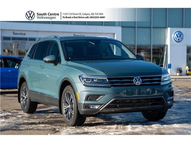 2021 Volkswagen Tiguan Highline (Stk: 10109) in Calgary - Image 1 of 44