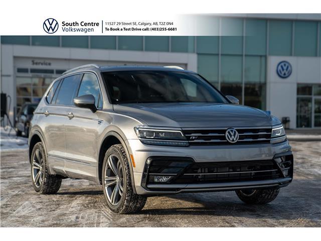 2021 Volkswagen Tiguan Highline (Stk: 10107) in Calgary - Image 1 of 48