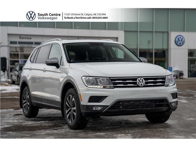 2021 Volkswagen Tiguan United (Stk: 10160) in Calgary - Image 1 of 47