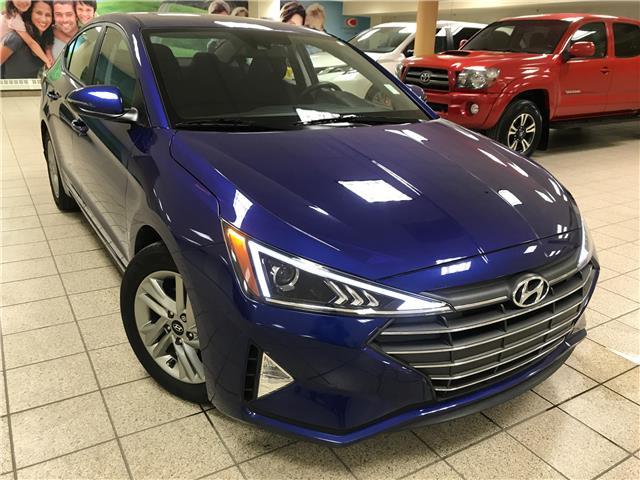 2020 Hyundai Elantra Preferred w/Sun & Safety Package (Stk: 201212B) in Calgary - Image 1 of 20
