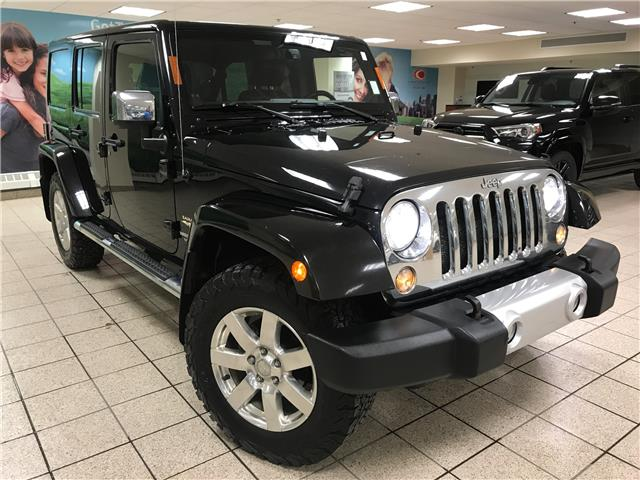 2014 Jeep Wrangler Unlimited Sahara (Stk: 210639A) in Calgary - Image 1 of 22