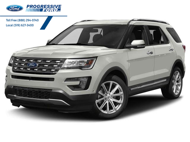 2017 Ford Explorer Limited (Stk: HGA28498T) in Wallaceburg - Image 1 of 9
