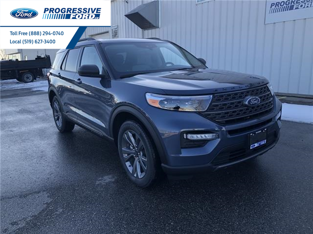2021 Ford Explorer XLT (Stk: MGA44474) in Wallaceburg - Image 1 of 17