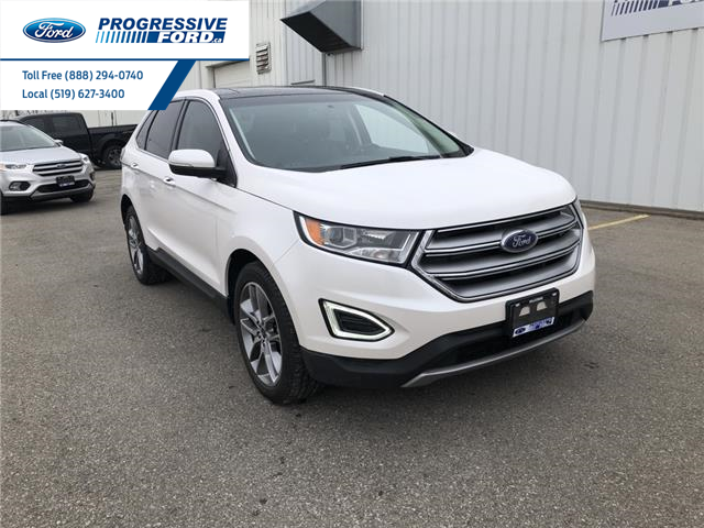 2016 Ford Edge Titanium (Stk: GBC22032) in Wallaceburg - Image 1 of 16