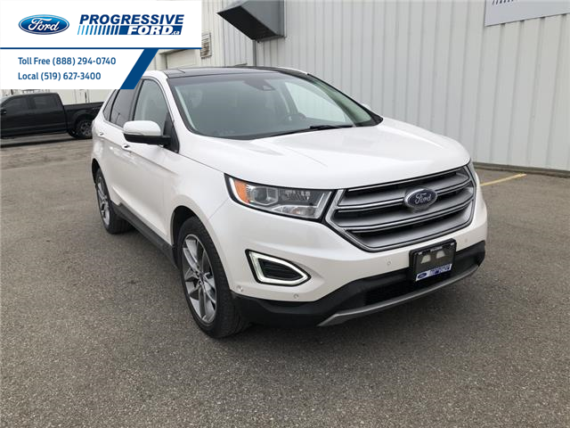 2016 Ford Edge Titanium (Stk: GBC43498) in Wallaceburg - Image 1 of 15