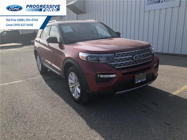 2021 Ford Explorer Limited (Stk: MNA03887) in Wallaceburg - Image 1 of 17
