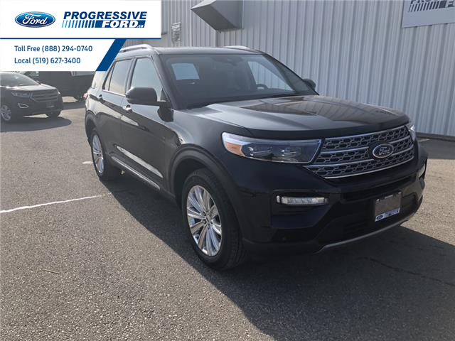 2021 Ford Explorer Limited (Stk: MNA07575) in Wallaceburg - Image 1 of 16