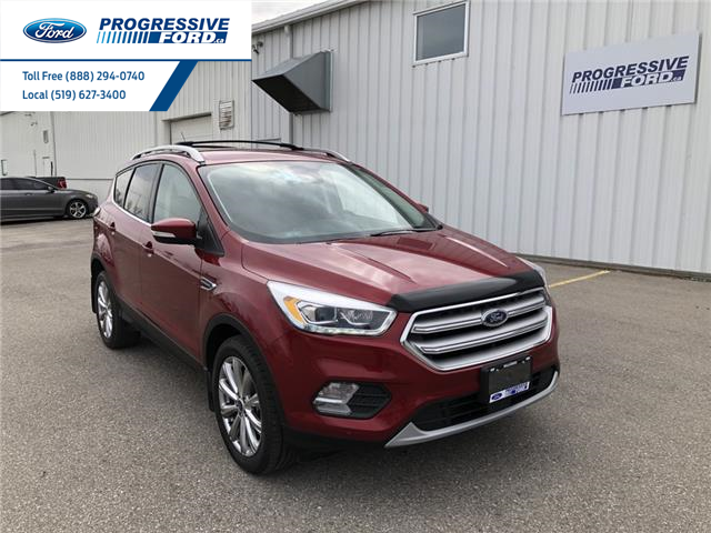 2018 Ford Escape Titanium (Stk: JUD52965T) in Wallaceburg - Image 1 of 14