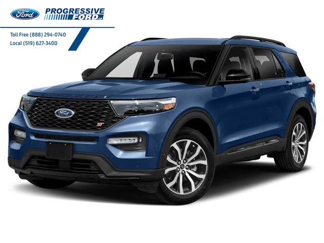 2021 Ford Explorer ST (Stk: MGB25785) in Wallaceburg - Image 1 of 9