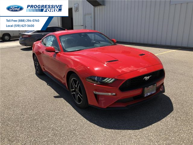 2021 Ford Mustang EcoBoost (Stk: M5124203) in Wallaceburg - Image 1 of 12