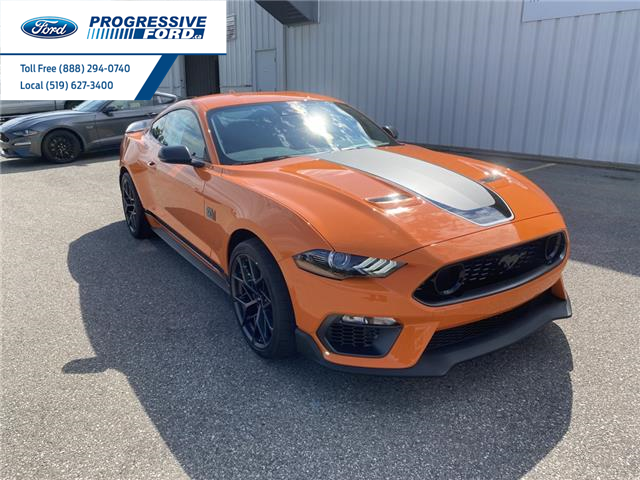 2021 Ford Mustang Mach 1 (Stk: M5551667) in Wallaceburg - Image 1 of 15