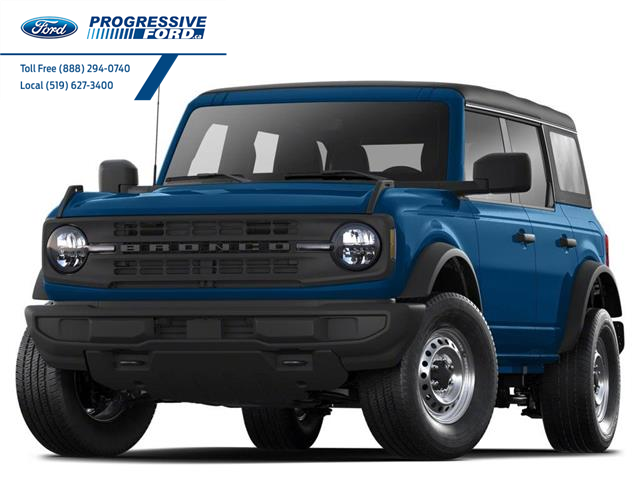 2021 Ford Bronco Outer Banks (Stk: MLA84706) in Wallaceburg - Image 1 of 3