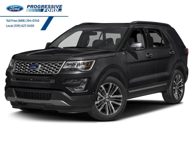 2017 Ford Explorer Platinum (Stk: HGD28494T) in Wallaceburg - Image 1 of 9