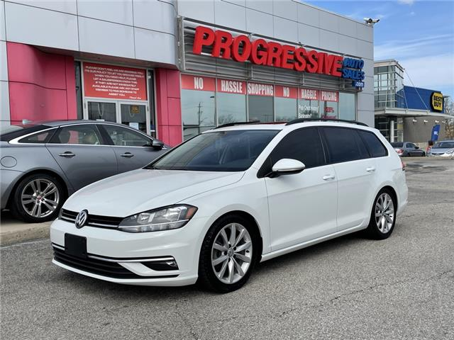 2019 Volkswagen Golf SportWagen 1.8 TSI Highline (Stk: KM508156) in Sarnia - Image 1 of 23