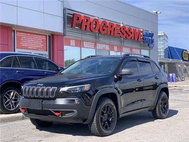 2020 Jeep Cherokee Trailhawk (Stk: LD500162) in Sarnia - Image 1 of 26