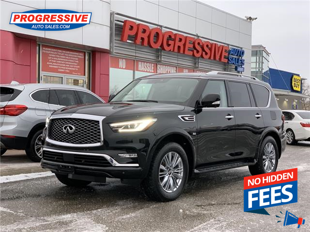 2019 Infiniti QX80 Limited 7 Passenger (Stk: K9460232) in Sarnia - Image 1 of 29