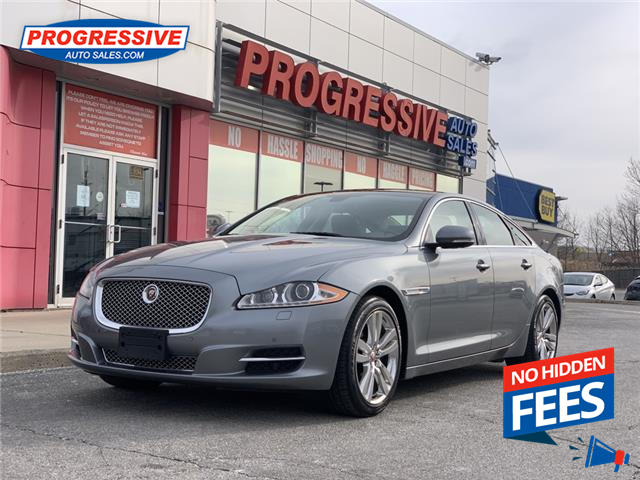 2015 Jaguar XJ 3.0L Premium Luxury (Stk: F8V82224) in Sarnia - Image 1 of 24