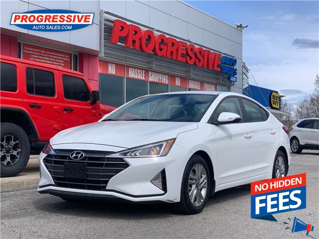 2019 Hyundai Elantra Preferred (Stk: KU759303) in Sarnia - Image 1 of 21