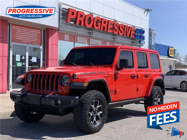 2018 Jeep Wrangler Unlimited Rubicon (Stk: JW148954T) in Sarnia - Image 1 of 24