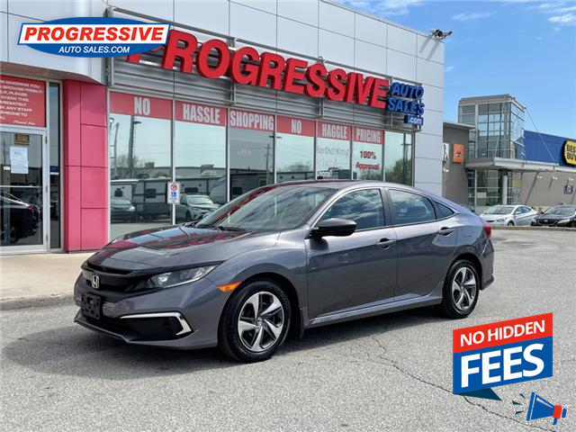 2020 Honda Civic LX (Stk: LH001374) in Sarnia - Image 1 of 24