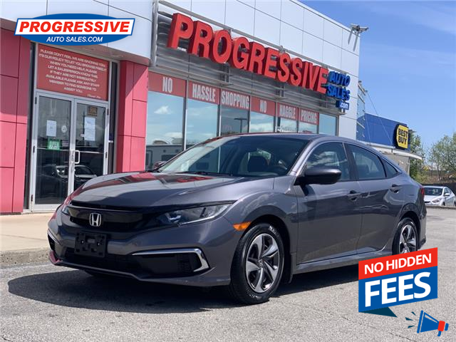 2020 Honda Civic LX (Stk: LH004491) in Sarnia - Image 1 of 22