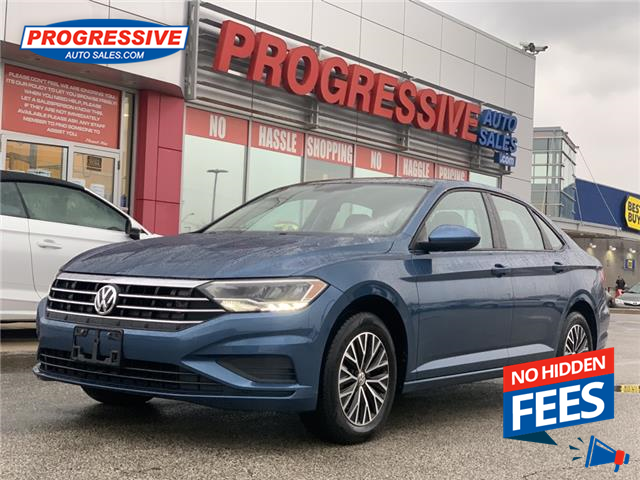 2019 Volkswagen Jetta 1.4 TSI Highline (Stk: KM217981) in Sarnia - Image 1 of 25